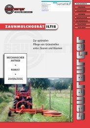 MECHANISCHER ANTRIEB > ROBUST ... - Sauerburger