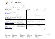 Übersicht der Ferienangebote für die Region Zürich - bei Childcare ...