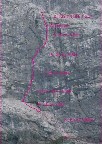 Nordwand-Wicht - Nordalpenklettern