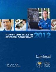 Program - Northern Ontario School of Medicine