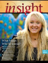 What Makes WSU so Special? - Office of Student Affairs and ...