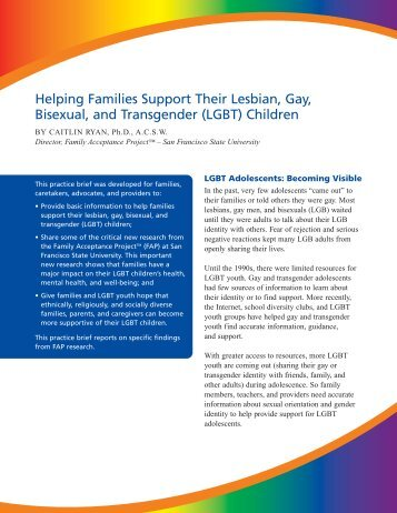 gay and lesbian youth essay