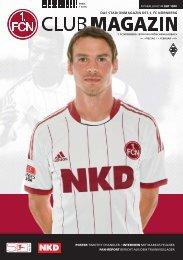 CM 10 MOENCHENGLADBACH.indd - 1. FC Nürnberg
