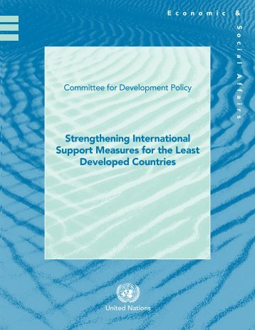 Strengthening International Support Measures for - the United Nations