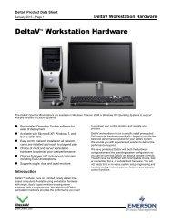 DeltaV Workstation Hardware - Emerson Process Management