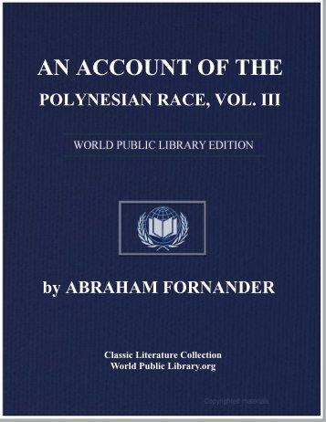 the polynesian race - World eBook Library