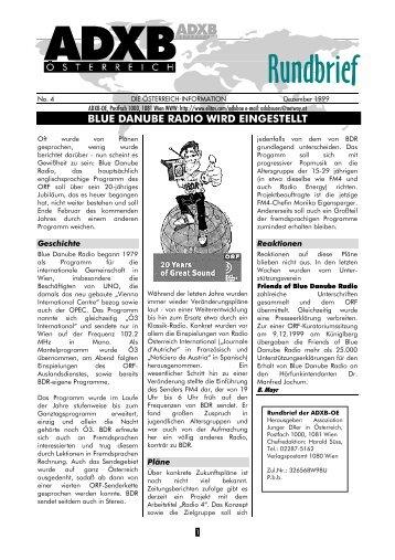 Ausgabe: Dezember 1999 - ADXB