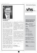 vhs Programmheft Frühjahr 2013 zum Download - Volkshochschule ... - Page 2