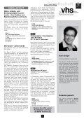 vhs Programmheft Frühjahr 2013 zum Download - Volkshochschule ... - Page 6