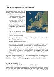 """Das Wort """"Europa"""" - Examen Europaeum"""
