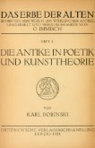 Die Antike in Poetik und Kunsttheorie : von Ausgang des ... - Seite 6