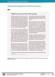 Training: Eine textgebundene Erörterung verfassen - Ernst Klett Verlag