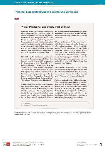 Textgebundene Magazine
