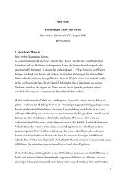 Otto Nebel: Einführung in Archiv und Poetik (pdf