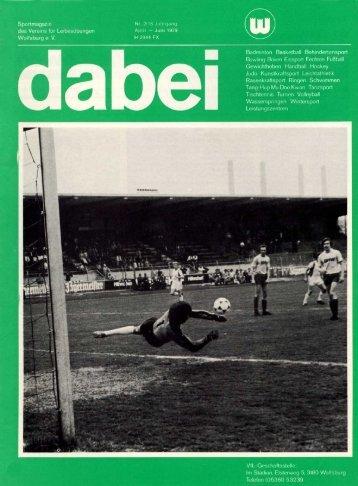 Sportmagazi n des Vereins für Leibesübunge n Wolfsburg e. V. Nr ...