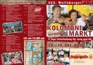 Programm - Wolfsberger Stadtwerke