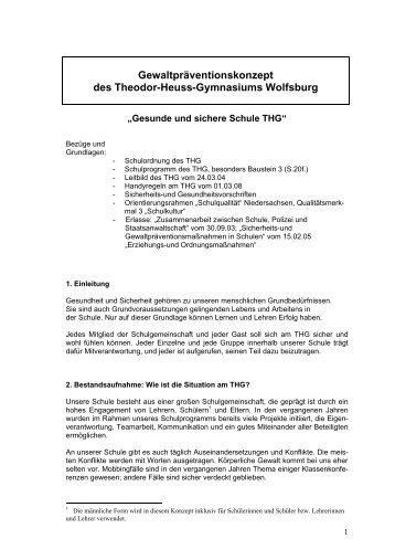 Hinweise Zur Anfertigung Der Facharbeit Theodor Heuss Gymnasium