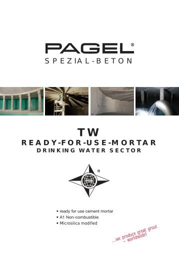 READY-FOR-USE-MORTAR SPEZIAL-BETON - Pagel Spezial ...