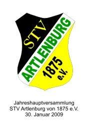 Begleitheftchen zur JHV 2009 - STV Artlenburg