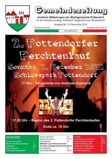 GZ 12 - November 2012.pmd - Marktgemeinde Pottendorf