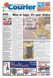 Te Awamutu Courier - July 3rd, 2007 - Te Awamutu Online