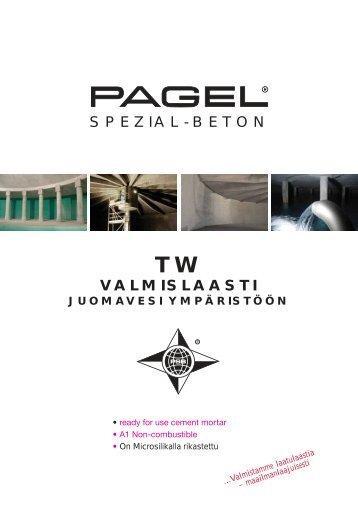 valmislaasti spezial-beton - Pagel Spezial-Beton GmbH & Co. KG