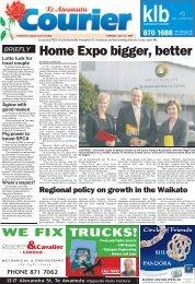 Te Awamutu Courier - July 21st, 2009 - Te Awamutu Online