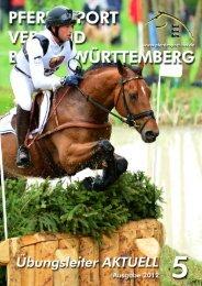 Ausgabe 05/2012 - Württembergischer Pferdesportverband eV