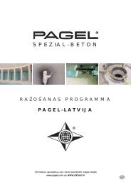 starptautiskās adreses - Pagel Spezial-Beton GmbH & Co. KG