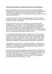 Verbotene Kennzeichen rechtsextremistischer Organisationen Nach ...