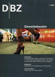 dbz, 1/2008, gewerbebauten, deutschland, s.44-53 - Bergmeisterwolf