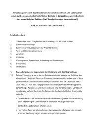 Richtlinie Ausgleichszulage Landwirtschaft - Baden-Württemberg