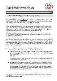 Eier - Info Direktvermarktung