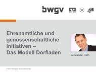 Genossenschaftliche Dorfläden in Ba.-Wü. - Baden-Württemberg