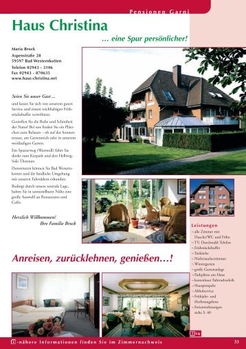 Pension - Bad Westernkotten