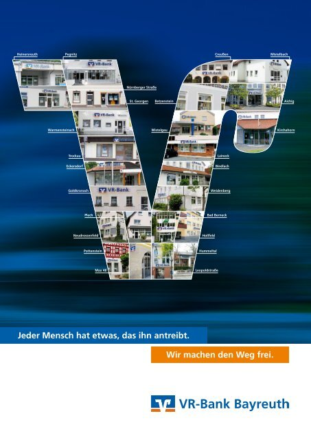 Geschäftsbericht 2010 - VR-Bank Bayreuth