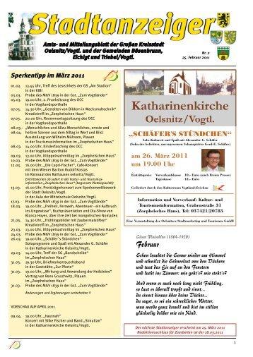 Februar - 1. Bürgerliche Schützengilde zu Oelsnitz/Vogtland e.V.