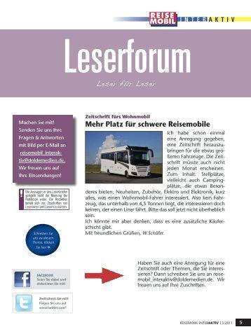 Reisemobil Interaktiv 15/2011