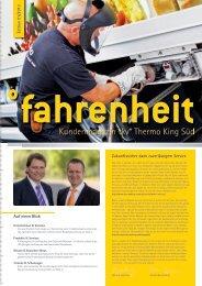 Lesen Sie unser neues Kundenmagazin - THERMO KING SÜD