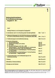 Verbraucherinformationen für die Kraftfahrtversicherung –Ausgabe ...