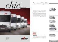Prospekt Carthago Reisemobile Chic 2013 - WoMo Eder