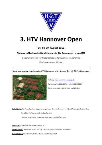 3. HTV Hannover Open - Hannoverscher Tennis-Verein