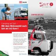 Camping auf Sylt – Mit dem Wohnmobil nach Sylt ab 142 Euro*!