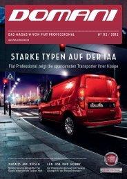 DOMANI - Das Magazin von FIAT Professional   Ausgabe 02/2012