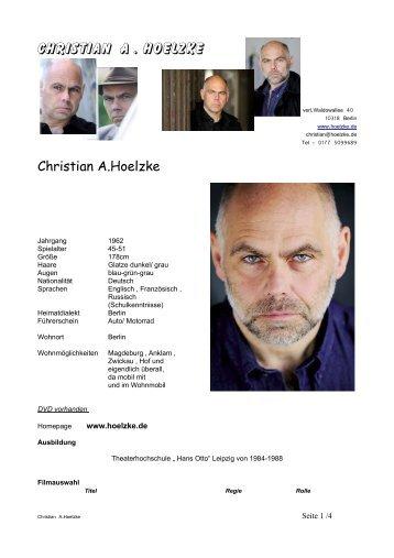 PDF - Christian A. Hoelzke
