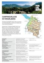 CAMPINGURLAUB IN VORARLBERG - Tiscover