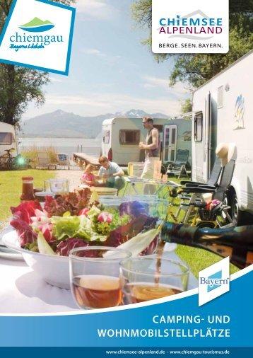 Camping- und Wohnmobilstellplätze - Chiemsee
