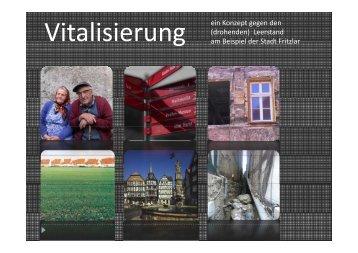 Vitalisierung ein Konzept gegen den (drohenden ... - Schwalm-Aue