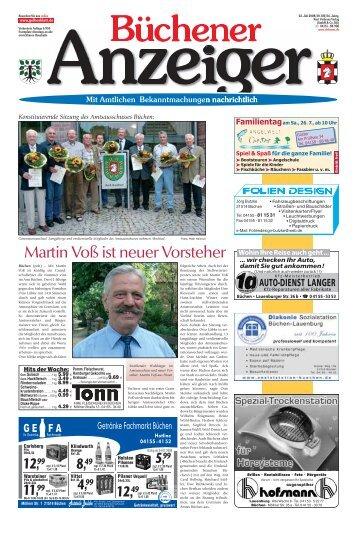 Martin Voß ist neuer Vorsteher - Kurt Viebranz Verlag