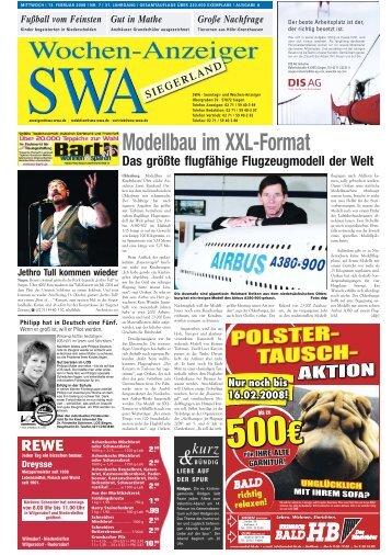 Ausgabe A, Siegen, Wilnsdorf (15.48 MB) - Siegerländer Wochen ...